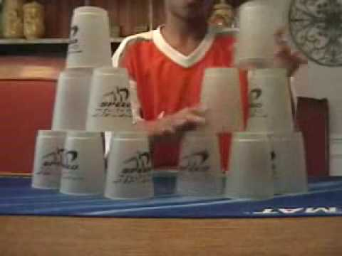 Sport Stacking World Record