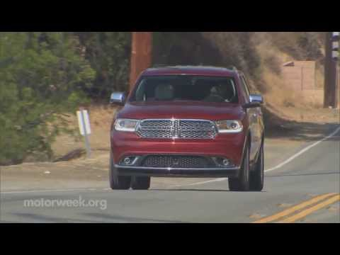 durango - We take a quick spin in the updated Dodge Durango.