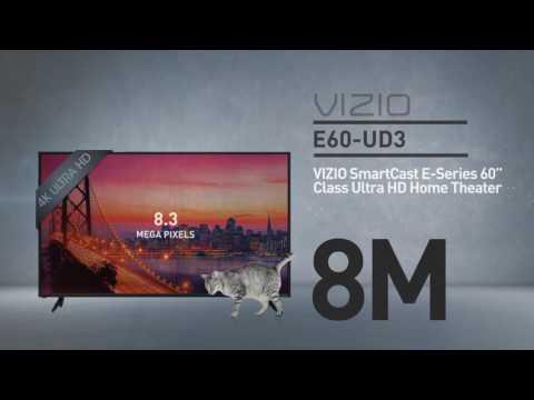 """All-New 2016 VIZIO E60u-D3 SmartCast E-Series 60"""" Class Ultra HD  // Full Specs Review  #VIZIO"""