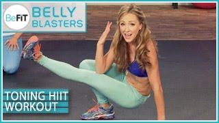 BeFiT Belly Blasters: Toning HIIT Workout for the Core- Nicola Harrington - YouTube