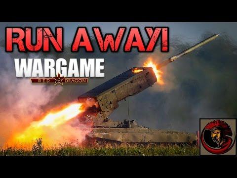 Wargame: Red Dragon - RUN AWAY!