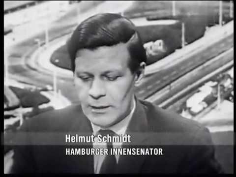 Filmaufnahmen über und aus Hamburg 1962