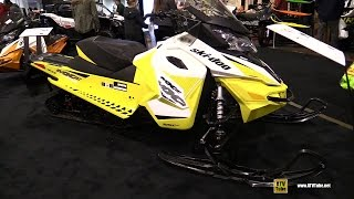 10. 2017 Ski Doo MXZ TNT 900 Sled - Walkaround - 2016 Toronto ATV Show