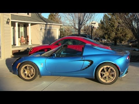 Lotus Elise Plasti Dip - Vintage Gold Wheels and Rims