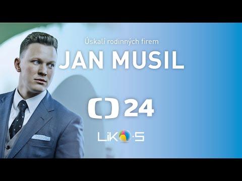 Jan Musil o rodinné firmě LIKO-S v pořadu Ekonomika ČT 24