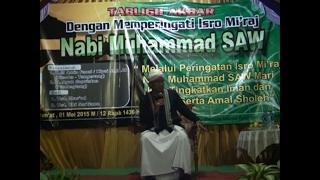 Ceramah Agama UST Jablay At Pasir Manggu 01 Mei 2015 Part 1