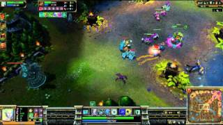 (HD 027) 5c5 demi finale go4lol français part 1 - LoL Replays [FR] -