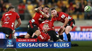 Crusaders v Blues Rd.15 2019 Super rugby video highlights | Super Rugby Video Highlights
