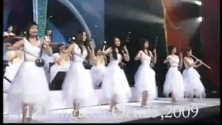 Video The Old 12 Girls Band 女子十二乐坊 Miracle 奇蹟 in HD white outfit MP3, 3GP, MP4, WEBM, AVI, FLV Maret 2018