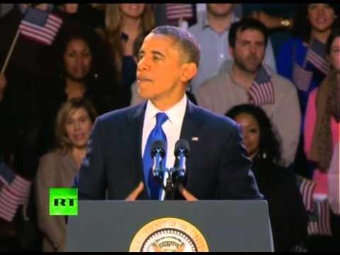 Победная речь Барака Обамы (видео)