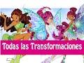 Winx Club - Todas Las Transformaciónes de Aisha! Español Latino