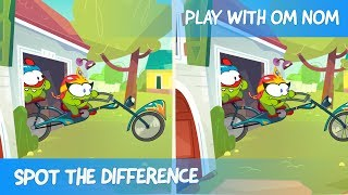 Spot the Difference - Om Nom Stories: Easter Bunny (Cut the Rope)