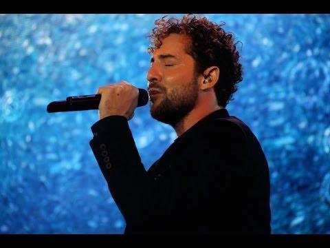 David Bisbal arranca su gira española en Almería