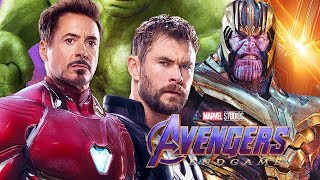 Avengers Endgame Thanos Returns Teaser and Captain Marvel TOP 10 Questions Breakdown