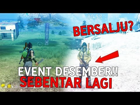 BOCORAN EVENT DESEMBER! MAP BERSALJU?? ELITE PASS TERBARU!! - FREE FIRE INDONESIA