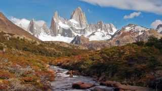 El Chalten Argentina  city images : Cerro Fitz Roy at El Chaltén, Argentina in HD