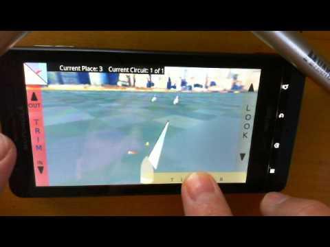 Video of 3D Sailing Simulator Regatta