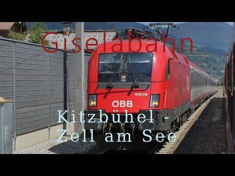 Führerstandsmitfahrt Giselabahn Kitzbühel - Zell am See [HD] - Cab Ride - ÖBB 1116