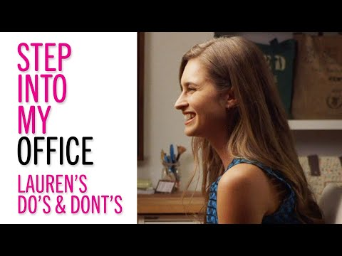 Stumped by Office Politics? Watch Lauren Bush Lauren's Career Dos & Don'ts – Glamour