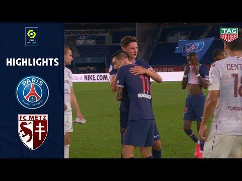 PARIS SAINT-GERMAIN - FC METZ(1 - 0 ) - Highlights - (PARIS SG - FC METZ) / 2020-2021