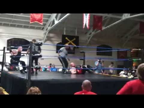 Drago & Logan Caine vs Tommy Blaze & Vandal part 2 5/4/13