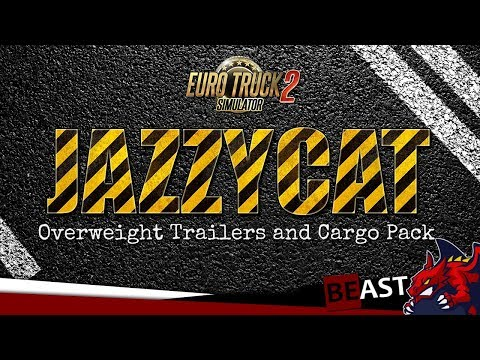 Overweight Trailers and Cargo Pack by Jazzycat v7.0