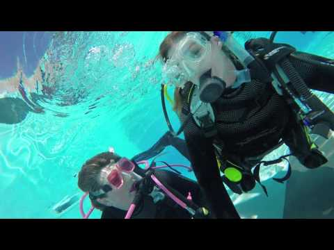 Scuba diving as a way to release some stress?