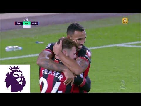 Video: Ryan Fraser doubles Bournemouth's lead v. Huddersfield I Premier League I NBC Sports