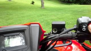 2. 2014 Honda foreman review