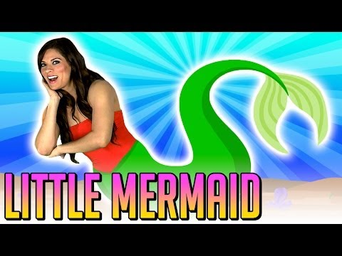 little mermaid - The Little Mermaid is one of the best fairy tales of all time, so Ms. Booksy just had to put her Story Time twist on it! Watch as Ms. Booksy enters the magic...