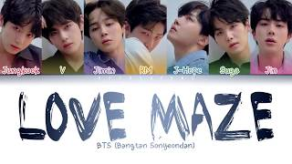 Video BTS (방탄소년단) - Love Maze (Color Coded Lyrics/Han/Rom/Eng) MP3, 3GP, MP4, WEBM, AVI, FLV Agustus 2019