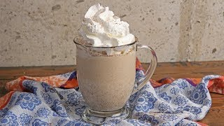 Pumpkin Spiced White Hot Chocolate | Episode 1197 by Laura in the Kitchen