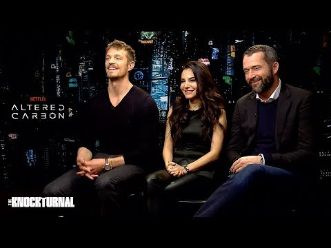 Joel Kinnaman & Cast Talk 'Altered Carbon'