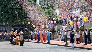 Starting form Sleeping Beauty Castle and marking down to the steps of the Main St. train station see the full celebration to mark...