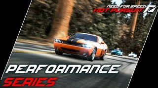 "NFS: Hot Pursuit (2010) Playlist: https://www.youtube.com/playlist?list=PLi-a_-JYhWjsi7Zt9vGoZFpXuI0uUhBd4* Performance Series- Muscle Reflex (00:58)• Choose from America's finest muscle cars and power your way through the opposition in this aggressive race from the bridge on Silver Creek Road to the bridge on Memorial Highway.• Used ride: Chevrolet Camaro SS- Beauty and the Beasts (06:19)• Admire the beauty of two powerful Italian convertibles - the Alfa Romeo 8C Spider and the Maserati GranCabrio. Keep the Ford Shelby GT500 Interceptors at bay by targeting them with a quick shock from your EMP.• Used ride: Maserati GranCabrio- Sidewinder (10:27)• The desert gets even hotter when all the Performance cars are out setting fast times along Boulder Road.• Used ride: Jaguar XKR- The Ultimate Road Car (13:57)• McLaren invites you to test drive their classic supercar, the F1. With a limited production run of 106, a central driving position, butterfly doors and an engine bay lined with gold, the McLaren remains the fastest naturally aspired car in the world.• Used ride: McLaren F1- Complete Control (18:58)• Some very sophisticated German All-Wheel-Drive engineering is on show in this duel. Which out of the Audi TT RS or the Porsche 911 Targa 4S will you be able to drive the fastest?• Used ride: Audi TT RS- Encore Performance (23:37)• Take the keys to the Performance vehicle of your choice. Starting out as a drag race along Westbeach Freeway, maximize your speed by slipstreaming the cars ahead.• Used ride: Chevrolet Camaro SS- Extreme Truth (29:27)• Porsche invites you to test drive stunning 911 GT3 RS. With more power, greater driving dynamics and less weight - the RS was made to deliver a few tenths of a second less. Because to you - and to Porsche - they mean everything.• Used ride: Porsche 911 GT3 RS- Escape Lane (34:03)• Seacrest County Police took delivery of some new equipment today, so tread with caution.• Used ride: BMW M3 E92- Experience More (39:22)• Open a new chapter in Maserati history. Experience more in either the GranCabrio or GranTurismo. Evoking tradition and experience, Maserati reaches ""Excellence Through Passion"".• Used ride: Maserati GranCabrio- The Prestige (41:40)• Take any of these luxurious sports cars from these four prestigious marques of Jaguar, Porsche, Maserati or Alfa Romeo.• Used ride: Jaguar XKR- Shock and Awe (49:35)• The latest weather reports indicate a storm brewing over the desert: electrical activity has been forecast. • Used ride: Dodge Challenger SRT8- M Power (54:54)• Speed. Power. Control. The M3 raised the bar for ultimate driving experience. Housed beneath the Powerdome, the M3's V8 delivers 420 bhp and 0 to 60 in 4.8 seconds - just what you need to survive a lengthy pursuit.• Used ride: BMW M3 E92Used device: KeyboardRecording Software: Shadowplay (NVIDIA GTX 760)Video Editing Software: Adobe Premiere Pro CS6"
