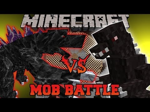 GODZILLA VS MOBZILLA - Minecraft Mob Battles - OreSpawn and Godzilla Mods