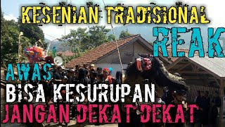 Kesenian Reak Jawa barat - kesenian tradisional