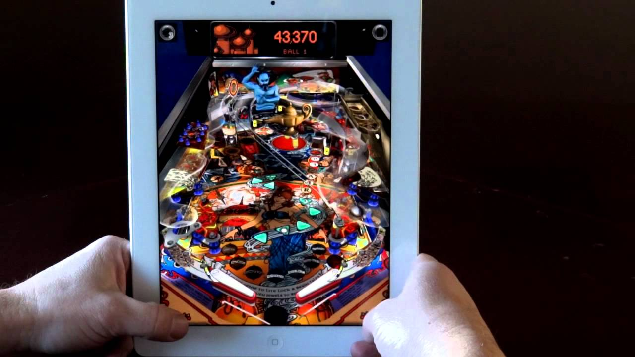 Video of Upcoming 'Pinball Arcade' Running on iPad 2