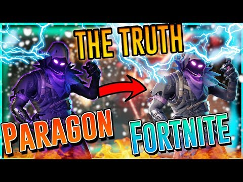 Paragon skins in Fortnite EPIC LIES AND IS LAZY