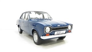 Nonton A Truly Delightful Ford Escort Mk1 1300L with Just 29,855 Miles from New - SOLD! Film Subtitle Indonesia Streaming Movie Download