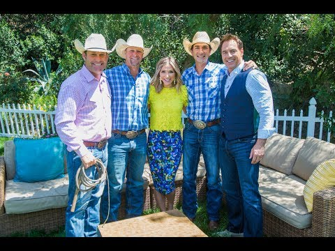 "The stars of ""The Cowboy Way"" - Home & Family"
