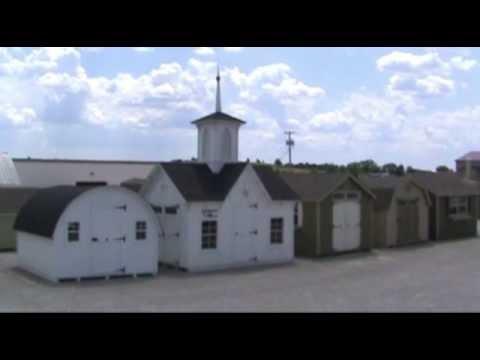 Amish Made Star Barn Panelized Kit