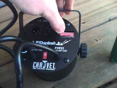 chauvet led splash jr.