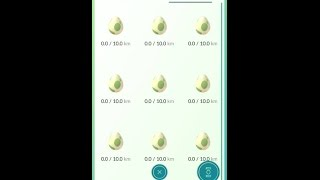 I saved up 9 of the 10 km Eggs and hatched them all at the same time. This is the video. I hope you enjoy. Want to see anything else comment below and I'll g...
