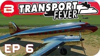 Transport Fever Gameplay - THE FLYING SCOTSMAN!! (Let's Play Transport Fever #6)