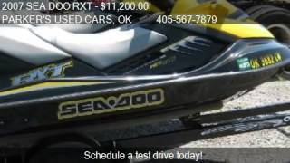 6. 2007 SEA DOO RXT  - for sale in PRAGUE, OK 74864