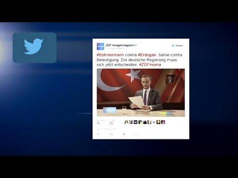 Γερμανία: Παρέμβαση Μέρκελ για την σατιρική εκπομπή του ZDF σε βάρος του Ερντογάν