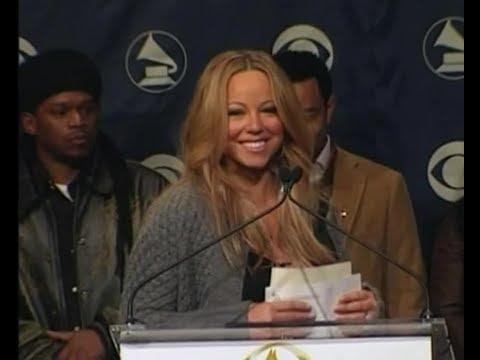 Mariah Carey - Grammys 2006 Nominations Announcement