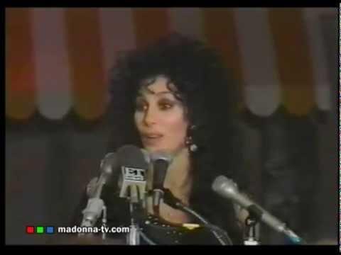 CHER talks MADONNA in 1989!