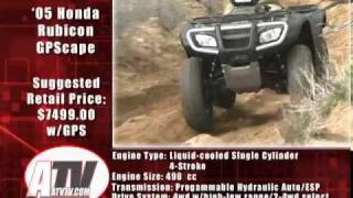 1. ATV Television Test - 2005 Honda Rubicon